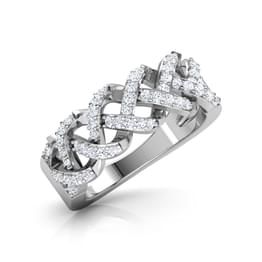 Camber Entwine Diamond Band