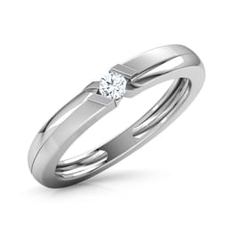 Justin Platinum Ring for Men