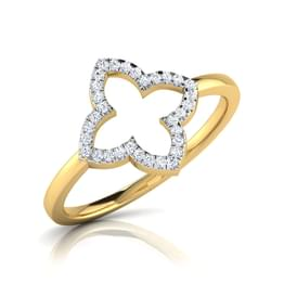 Holly Cutout Ring