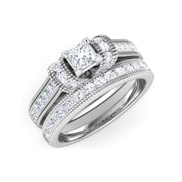 Eterna Bridal Ring Set