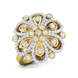 Grand Diamond Studded Ring