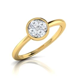 Aylin Cluster Diamond Ring