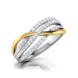 Hilda Contour Diamond Band