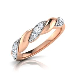 Chiba Love Twine Diamond Band