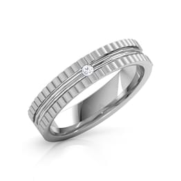 Jude Platinum Band for Him