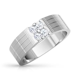 Eric Platinum Ring for Him