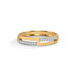 Sleek Diamond Band