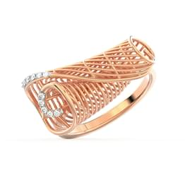 Enfold String Art Ring