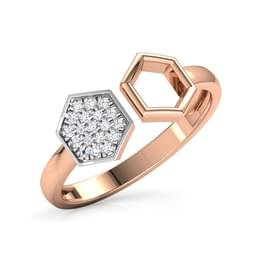 Dual Hexagon Ring