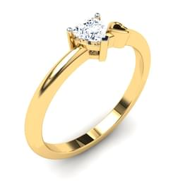 Caro Heart Solitaire Ring Mount