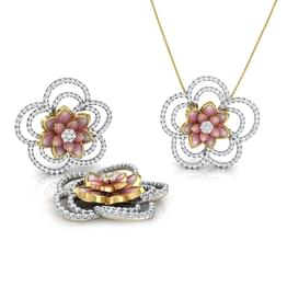 Sparkling Bloom Lotus Matching Set