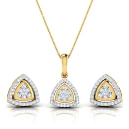 Daisy Triangle Halo Matching Set