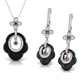Jody  Black Onyx Matching Set