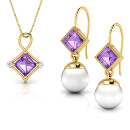Forever Amethyst Matching Set