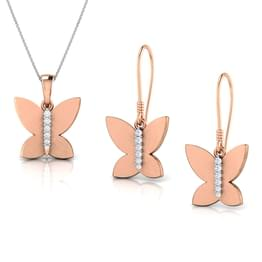 Brilliant Butterfly Matching Set