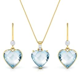 Hearthrob Topaz Matching Set