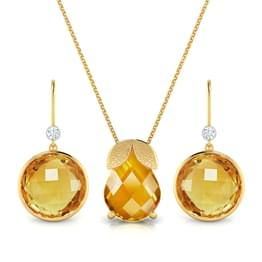 Amber Facet Matching Set