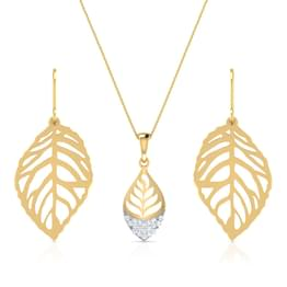 Foliate Cutout matching Set