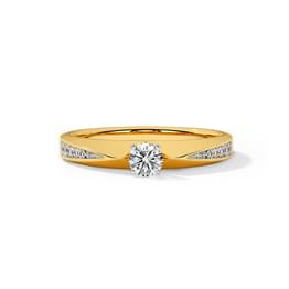Meridian Solitaire Ring