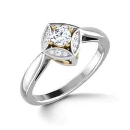 Eloquent Solitaire Ring