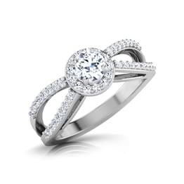 Tacy Glare Solitaire Ring