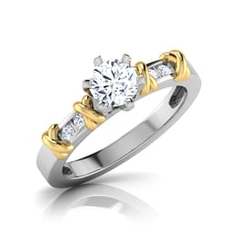 Mona Six Prong Solitaire Ring