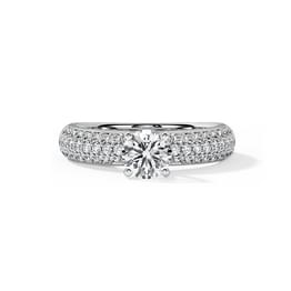 Ruth Elegant Solitaire Ring