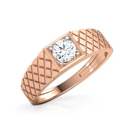 Harry Solitaire Ring for Him