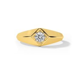 Mark Solitaire Ring for Him
