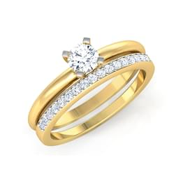 Glow Bridal Ring Set