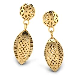 Gloria Beaded Drop Earrings