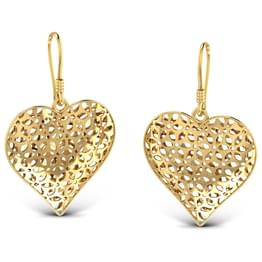 Belle Heart Drop Earrings