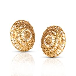 Eva Swirl Stud Earrings