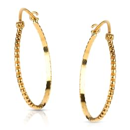 Fania Beaded Hoop Earrings