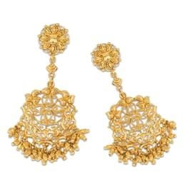 Anchal Filigree Drop Earrings