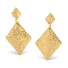 Danna Hammered Drop Earrings