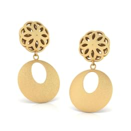 Bertha Cutout Drop Earrings