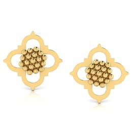 Petal Jharokha Stud Earrings