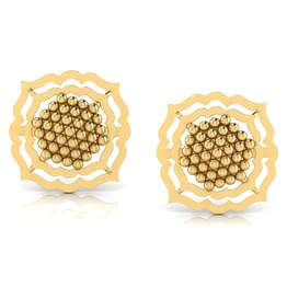 Framed Jharokha Stud Earrings