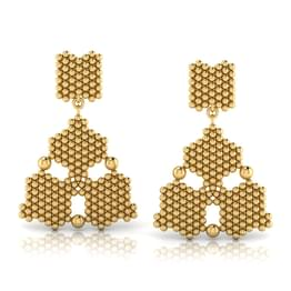 Trio Jharokha Stud Earrings