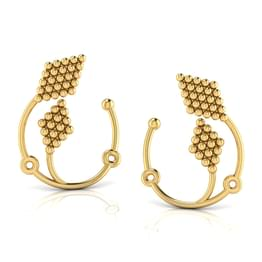 Duo Jharokha Hoop Earrings