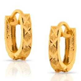 Ditvi Shine Gold Earrings