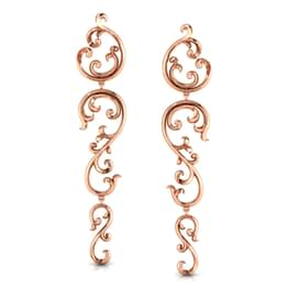 Ornate Filigree Drop Earrings