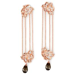 Exquisite Filigree Chandelier Earrings