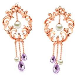 Enticing Filigree Drop Earrings