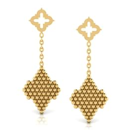 Dainty Jharokha Drop Earrings