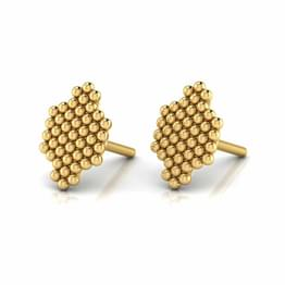 Subtle Jharokha Stud Earrings