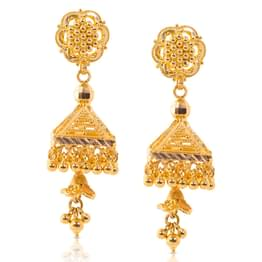 Granulated Jhumkas