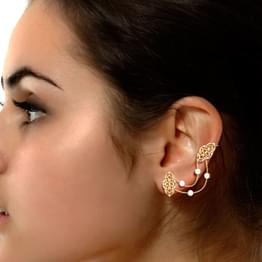 Judaea Cutout Ear Cuffs