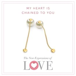 Sway Heart Stud Earrings